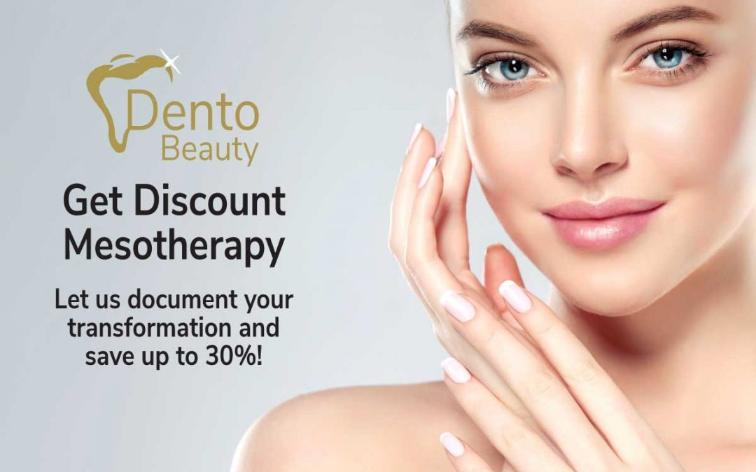 Save up to 30% on Mesotherapy at DentoBeauty, Grays