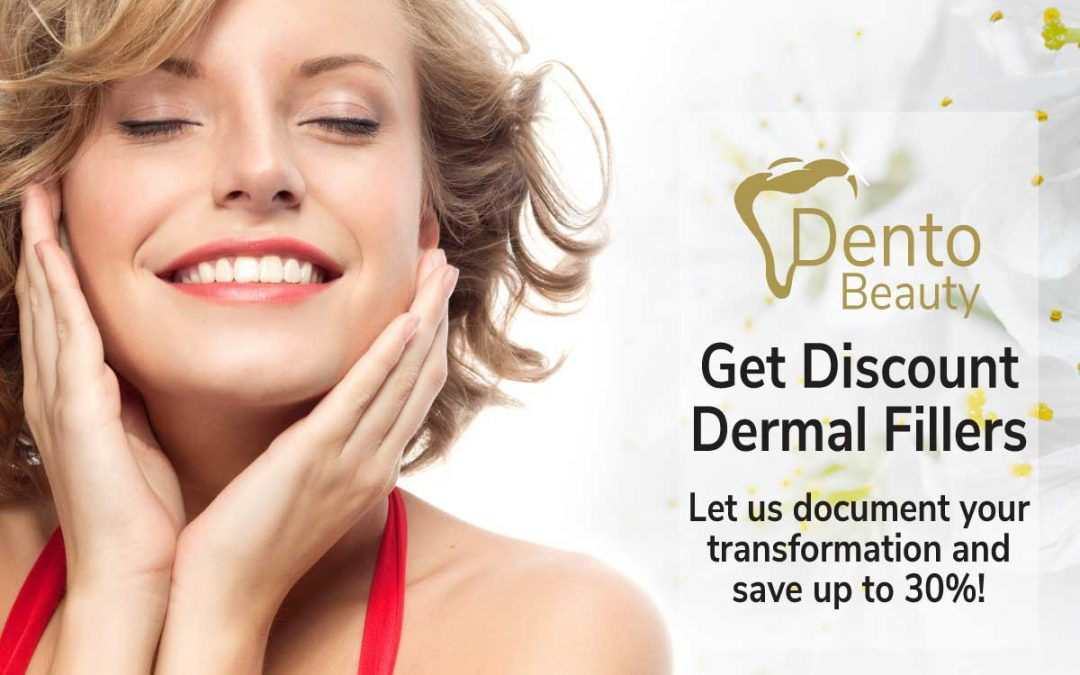 Save up to 30% on Dermal Fillers at DentoBeauty, Grays