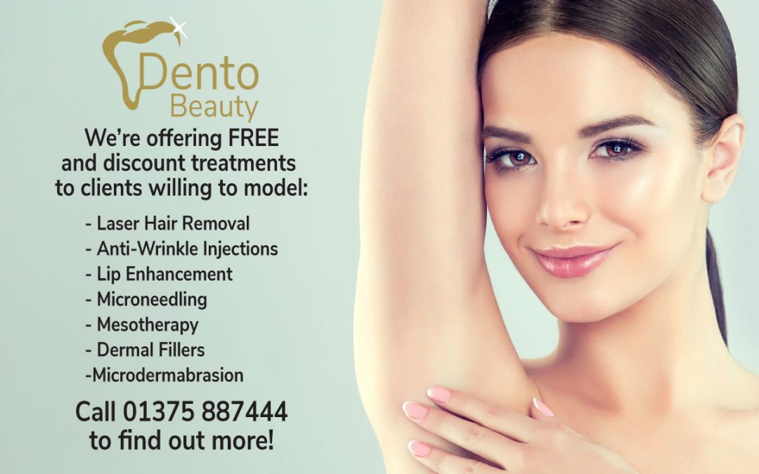 Free and Discount Cosmetic Treatments at DentoBeauty, Grays