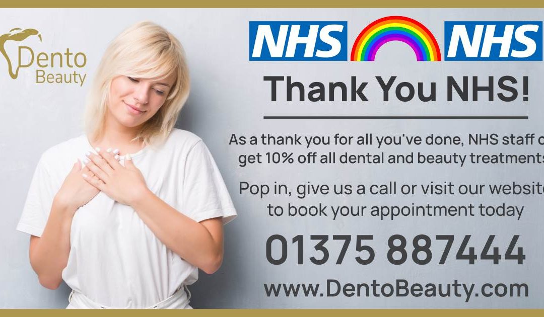 A Thank You From DentoBeauty To The NHS
